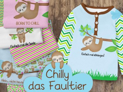 Chilly das Faultier