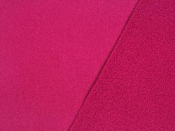 Toller SOFTSHELL - uni pink, TOP-Qualität Nano-Softhell,...