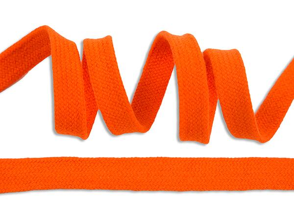 Tolles HOODIEBAND / Kapuzenband, orange,15mm, Alternative zur KordElasthan