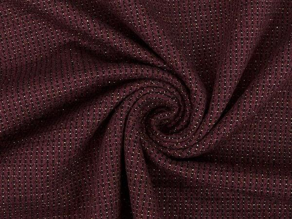 HAMBURGER LIEBE - KNIT- KNIT GLAM , Glitzer, bordeaux/...