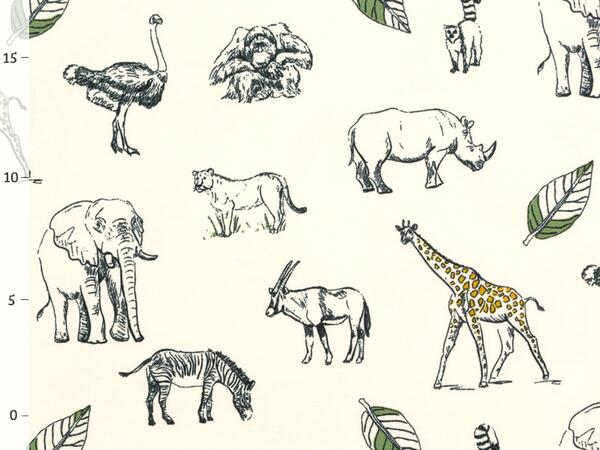 SAFARI Jersey,  ORGANIC COTTON