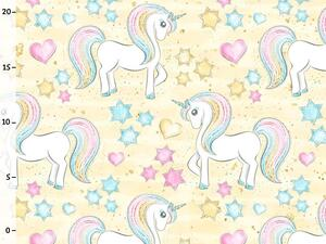 Bio-Jersey, Einhorn Stern & Herzen, unicorn Dream, by BioBox