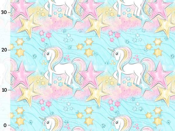 Bio-Jersey, Einhorn Sternenland, unicorn Dream, by BioBox
