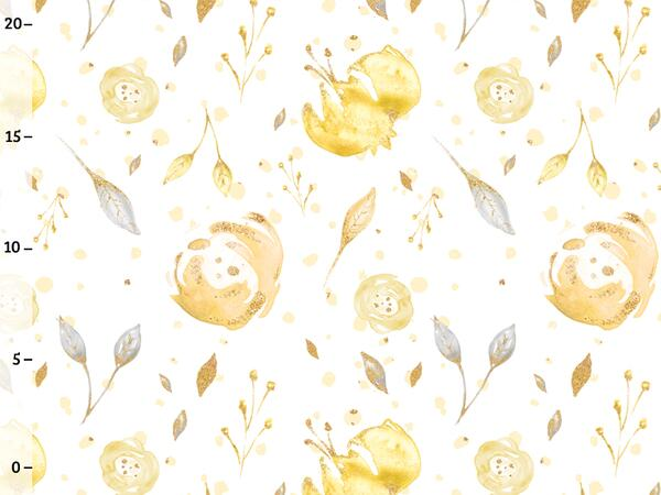 Bio-Jersey, golden flower, gold mint collection by...