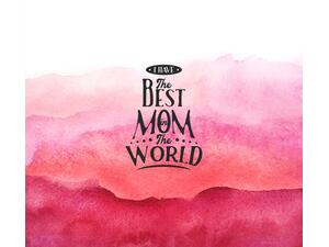 Bio-Jersey, Panel - best Mom in the world, SuperMama,...