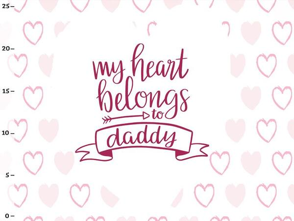 Bio-Jersey, my heart belongs to daddy Panel, Superkind by...