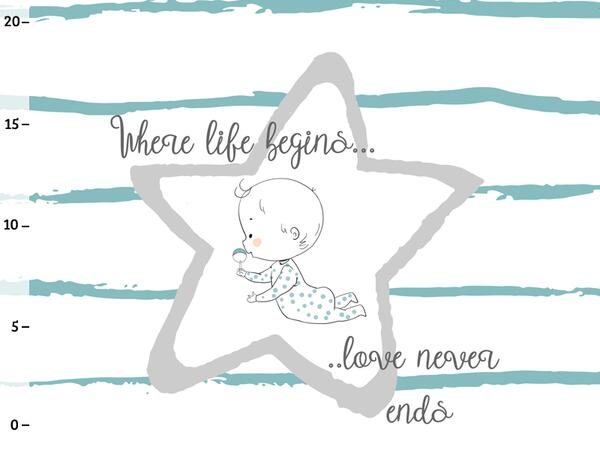 Bio-Jersey, PANEL Where life begins love never ends,...