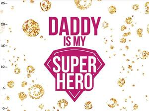 Bio-Jersey, Panel - Daddy is my hero / Superkind, BioBox