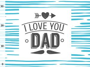 Bio-Jersey, I love you dad PANEL, SuperPapa, by BioBox