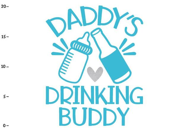 Bio-Jersey, Daddys drinking buddy PANEL,SuperPapa, by BioBox
