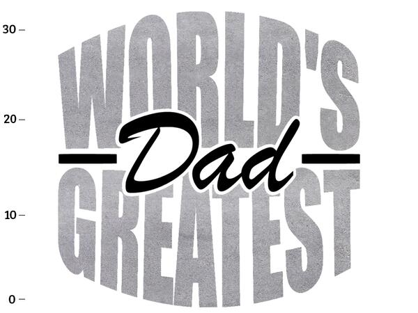Bio-Jersey, XL-Panel, Worlds greatest Dad, BETONSTYLE, SuperPapa, by BioBox