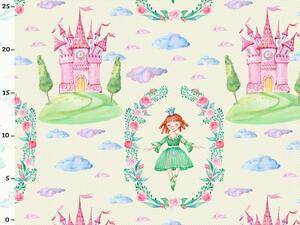 Bio-Jersey, MAGIC WORLD, Prinzessin Schloss, by BioBox
