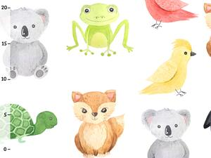 Bio-Jersey, Koala Frosch Vogel, happy zoo, by BioBox