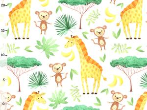 Bio-Jersey, Giraffe Affe, happy zoo, by BioBox