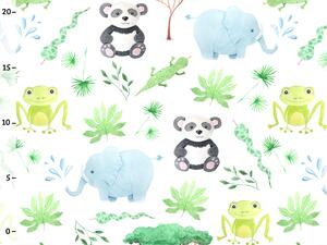 Bio-Jersey, Elefant Frosch, happy zoo, by BioBox