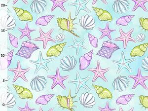 Bio-Jersey, Muscheln, Mermaid party, by BioBox