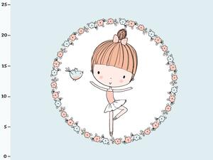 Bio-Jersey, Ballerina Panel, Cute Ballerina, by BioBox