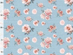 Bio-Sommersweat, lace roses, Rosen, summer jeans, by BioBox
