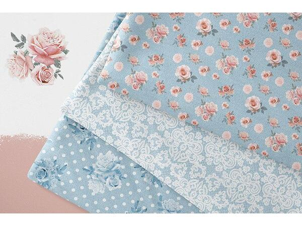 Bio-Sommersweat, lace roses & dots, Rosen & Punkte, summer jeans, by BioBox