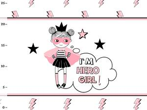 Bio-Jersey, Im hero girl Panel, Hero Girl, by BioBox