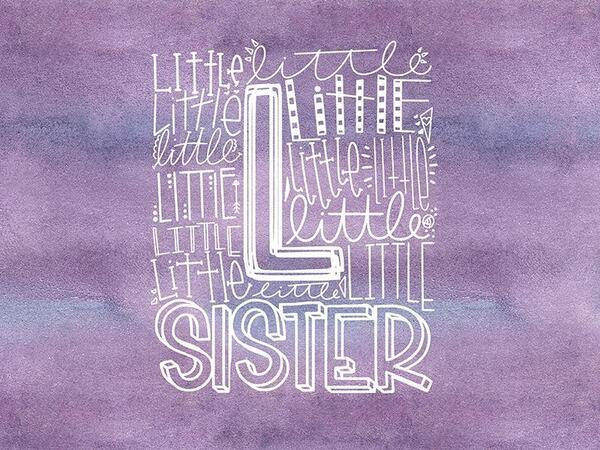 Bio-Jersey, LITTLE sister Panel Super-Schwester, by...