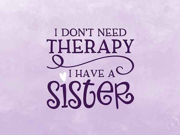Bio-Jersey, NO THERAPY sister Panel Super-Schwester, by...