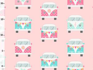 Bio-Jersey, Camper rosa II - Happy Camper, by BioBox