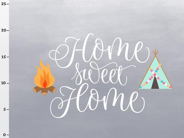 Bio-Jersey, home sweet home Panel, Happy Camper II, by...