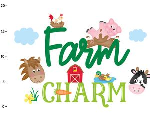 Bio-Jersey, Farm Charm Panel, Die kleine Farm, by BioBox