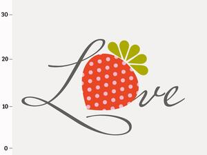 Bio-Jersey, Love XL Panel, Fruit Fun, by BioBox