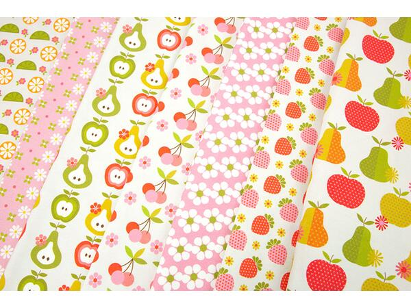 Bio-Jersey, Sweet Summer Time XL Panel, Fruit Fun, by BioBox