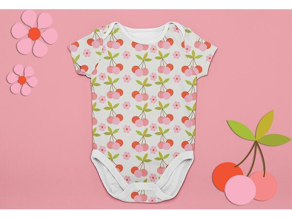 Bio-Jersey, Love PANEL, Fruit Fun, by Bio-Box