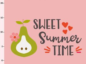 Bio-Jersey, Sweet Summer Time PANEL, Fruit Fun, by Bio-Box