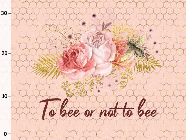 Bio-Jersey, To bee or not to bee XL-PANEL, bee yourself,...