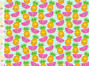 Bio-Jersey Früchte, Tropical Party, Jersey by Bio-Box