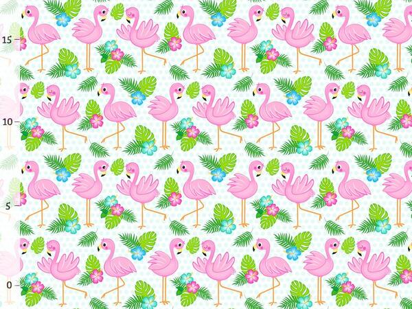 Bio-Jersey Flamingos, Tropical Party, Jersey by Bio-Box