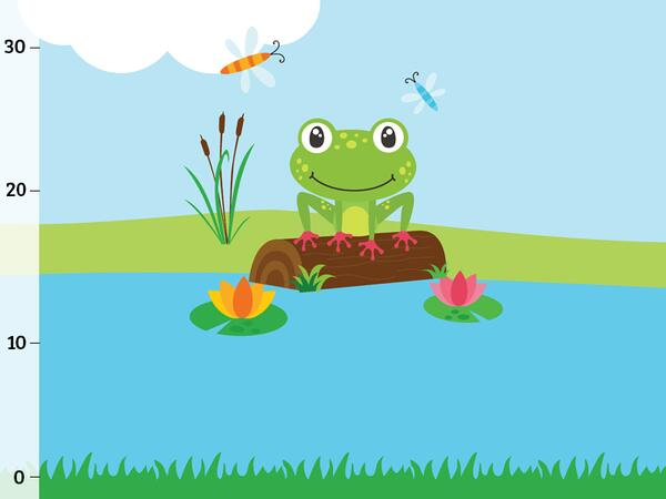 Bio-Jersey, Sommer am See Panel, Funny Frog, by BioBox,...