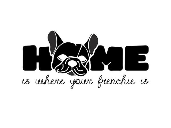 Bio-Jersey, home is where your Frenchie is, French...