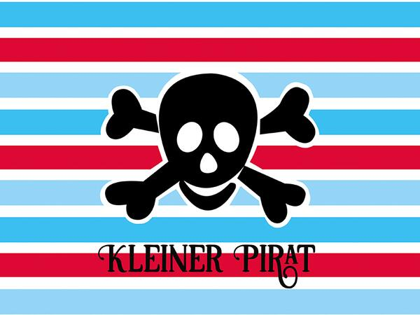 Bio-Jersey, Kleiner Pirat PANEL, Piraten Ahoi by BioBox,...
