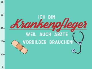 Bio-Jersey, XL Panel - Krankenpfleger, Alltagshelden by...