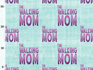 .Bio-Jersey, walking mom Kombi light petrol, walking mom...