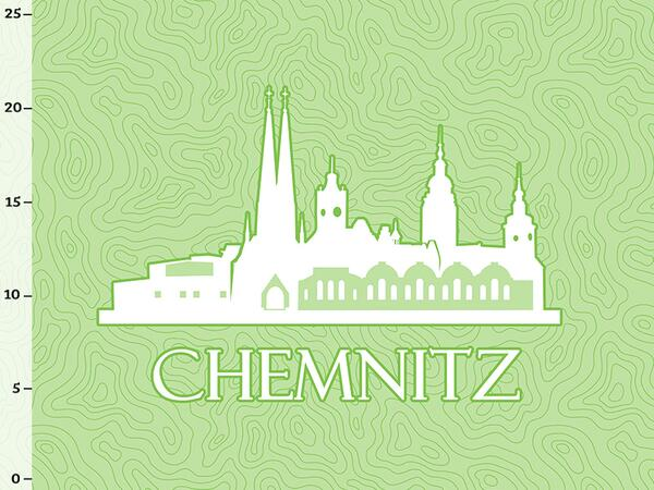 Bio-Jersey Chemnitz XL Panel grün - Städte-Kollektion by BioBox