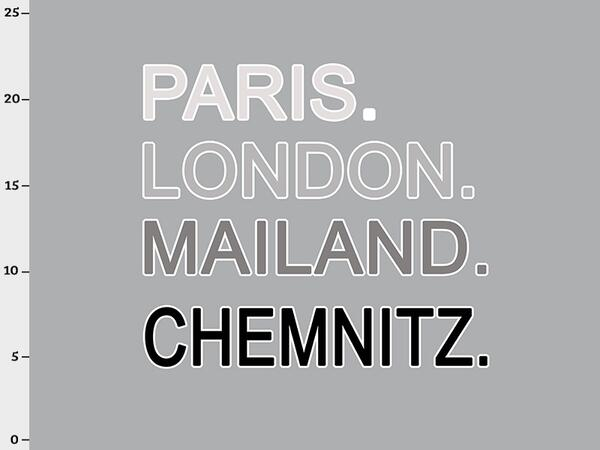 Bio-Jersey Chemnitz XL Panel grau - Städte-Kollektion by...