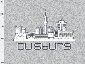 Bio-Jersey Duisburg XL Panel grau - Städte-Kollektion by...