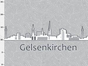Bio-Jersey Gelsenkirchen XL Panel grau -...