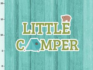 Bio-Jersey Little Camper Panel, Camping Kids by Bio-Box