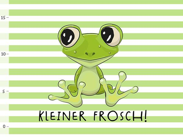 Bio-Jersey PANEL kleiner Frosch, bald-Mama-Serie by Bio-Box