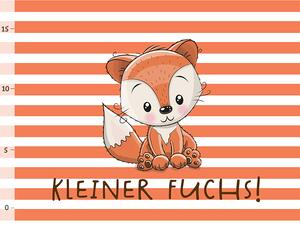 Bio-Jersey PANEL kleiner Fuchs, bald-Mama-Serie by Bio-Box