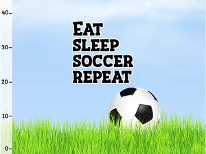 Bio-Jersey FUßBALL Panel eat sleep soccer repeat by Bio-Box