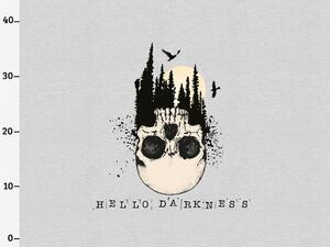 BIO-Jersey, hello darkness XL Panel grau melange by BioBox